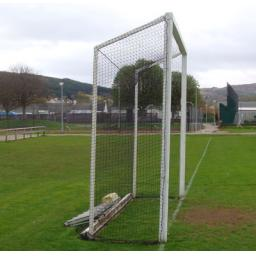 PAIR of full size Shinty Nets (custom made Black or White)