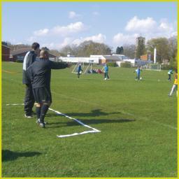 Coaches technical area
