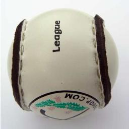League split leather Shinty Ball