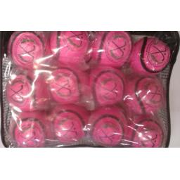 Pack of Pink Shinty balls