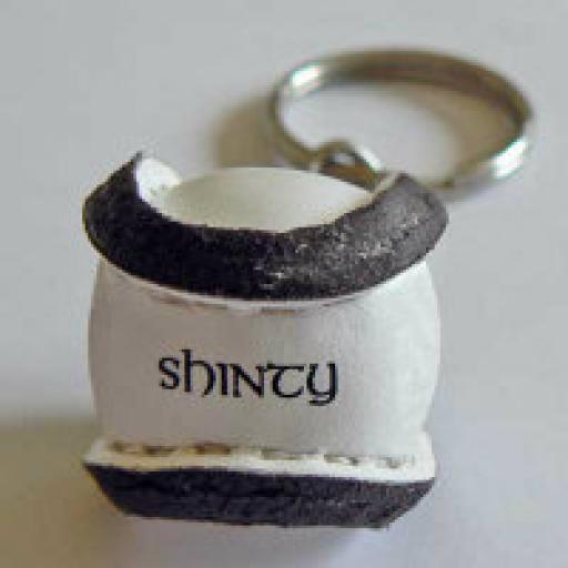 Shinty Ball Key Ring (Can Also Be Wedding Favours)