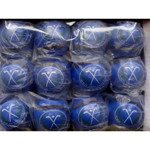 Pack of Light Blue Shinty Balls