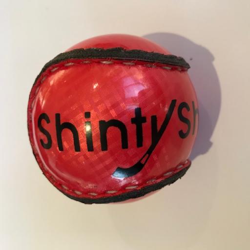 Red Shinty ball
