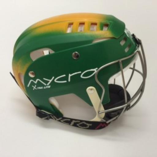 Personalised Faded SHINTY or HURLING Helmet