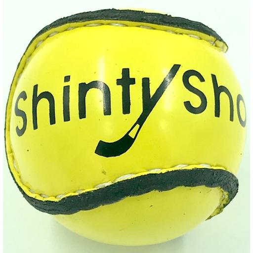 Fluorescent Yellow Shinty ball