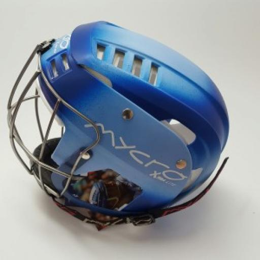 Personalised Faded SHINTY or HURLING Helmet