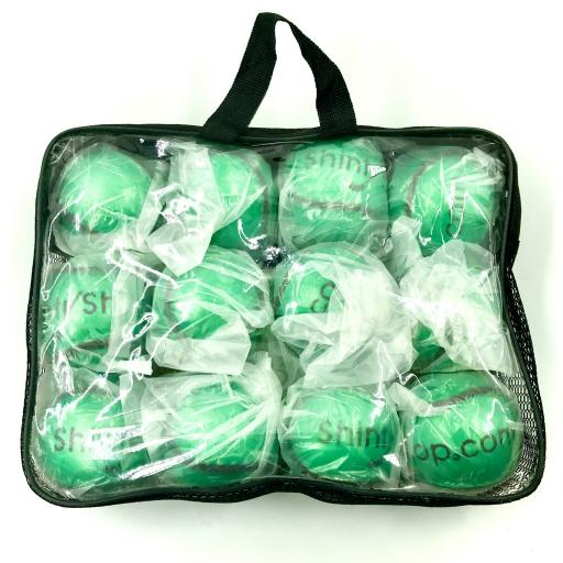 Shinty Balls - Pack of Green