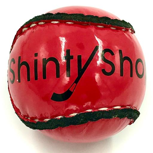 Shinty ball - Shiny RED