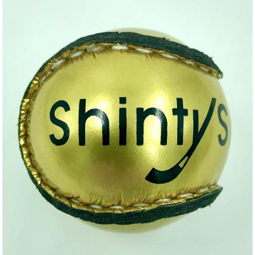 Gold Shinty Ball
