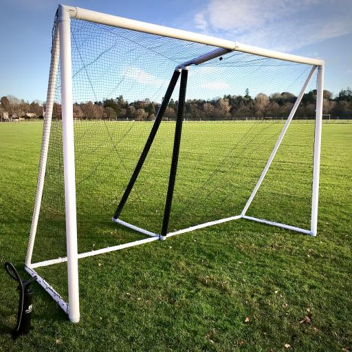NEW! PAIR of Portable Inflatable Shinty Goals